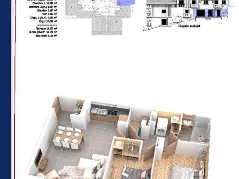 Vente neuf appartement Samoens  - Photo 3
