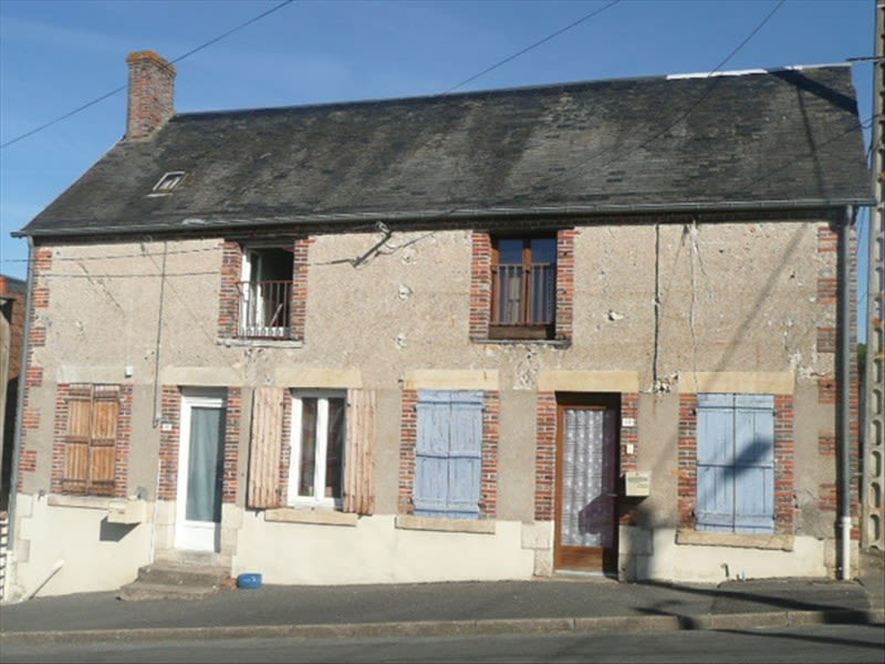 Vente maison / villa Vailly sur sauldre 73 000€ - Photo 1