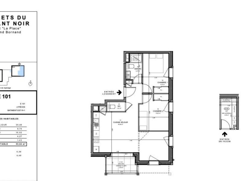 Vente appartement Le grand-bornand 365000€ - Photo 2