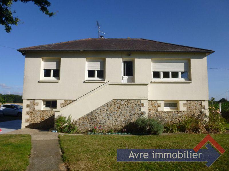 Vente maison / villa Verneuil d avre et d iton 128000€ - Photo 1