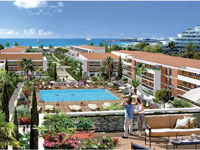 Sale apartment Villeneuve loubet 358 000€ - Picture 1