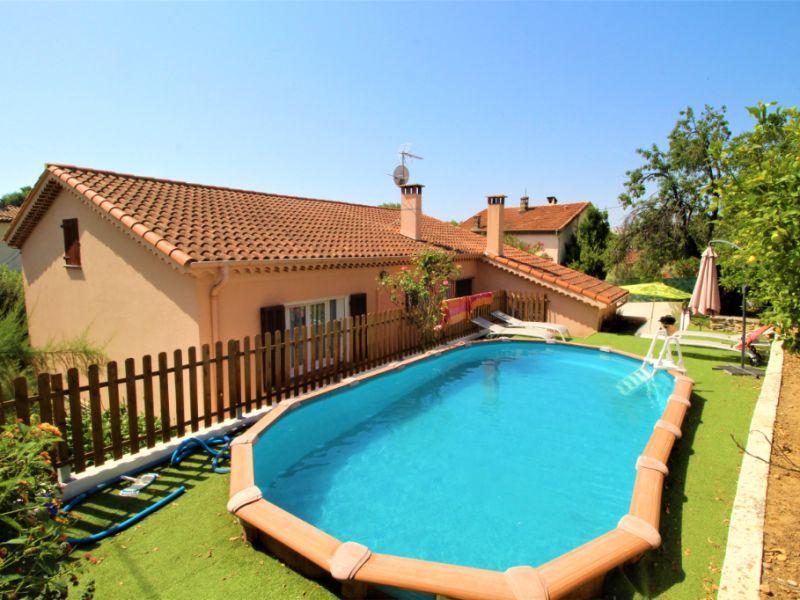 Vente maison / villa Cagnes sur mer 555000€ - Photo 1