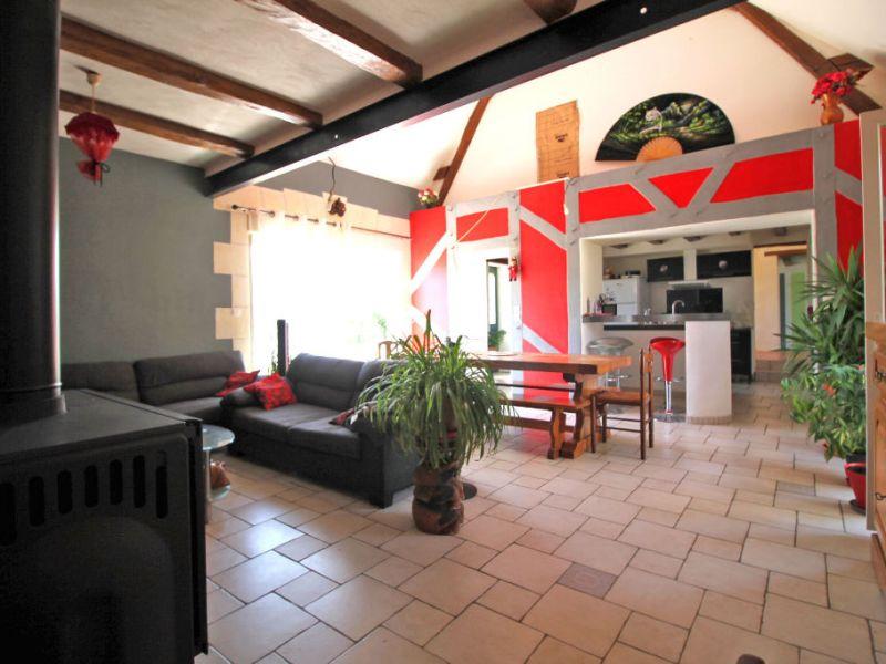 Vente maison / villa La chartre sur le loir 132000€ - Photo 2