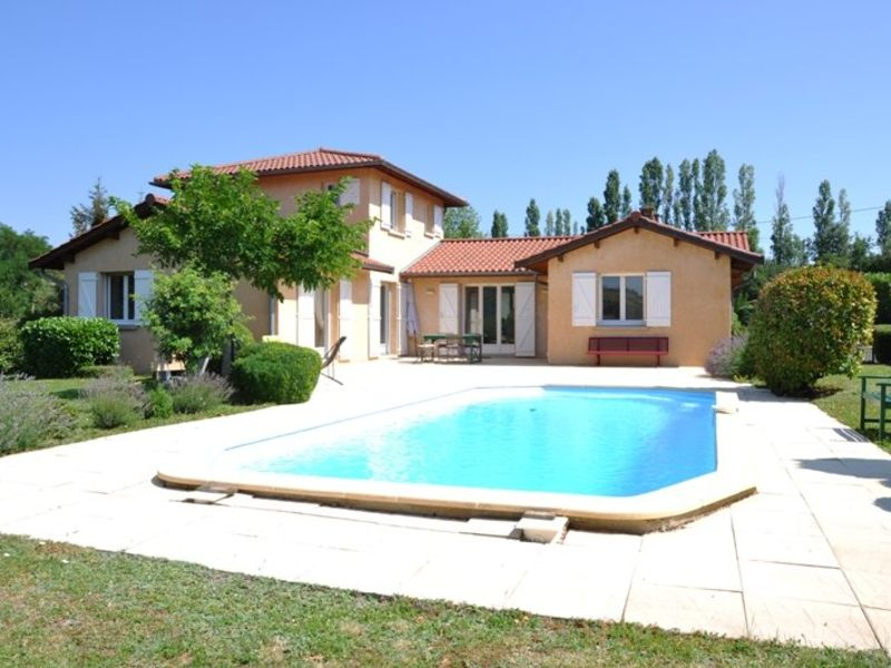 Sale house / villa Ville sur jarnioux 480000€ - Picture 1