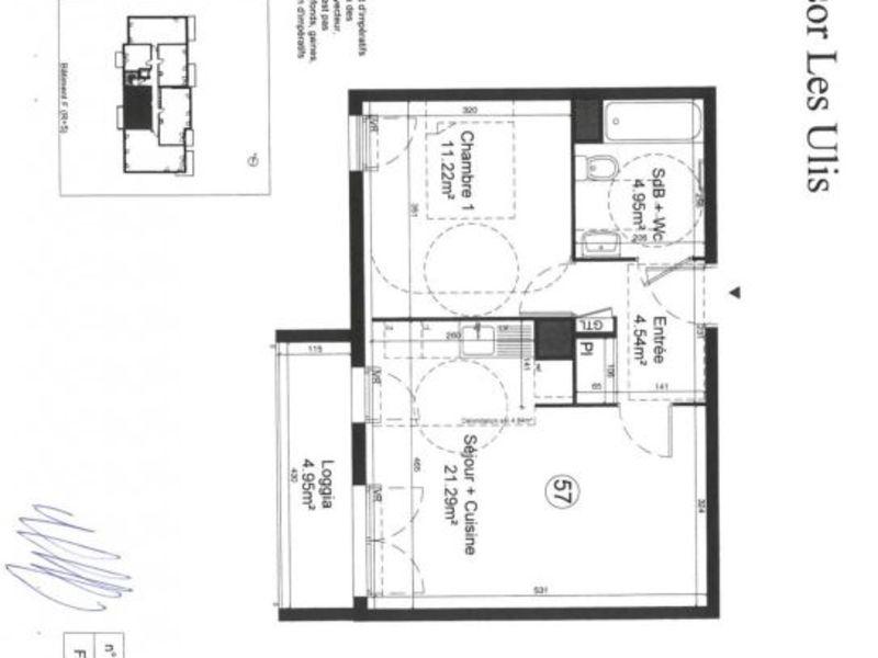 Sale apartment Les ulis 175000€ - Picture 12