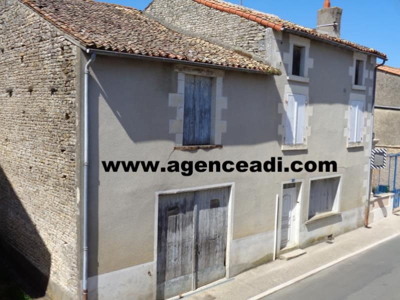 Vente maison / villa Pamproux 59 400€ - Photo 1