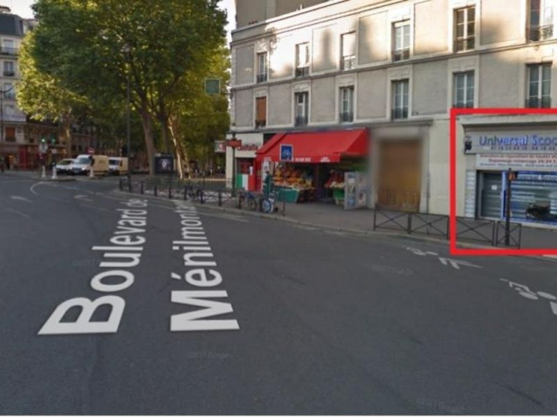 Vente local commercial Paris 11 410 000€ - Photo 1