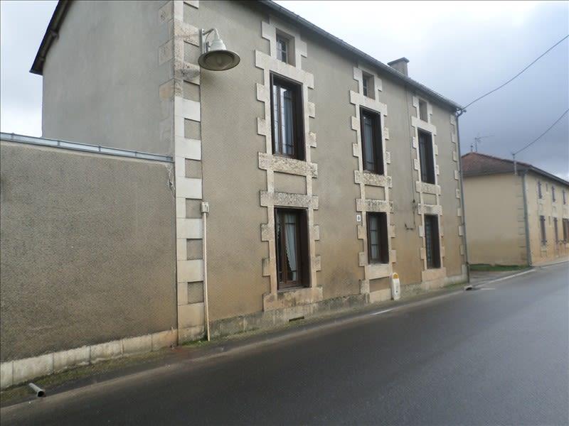 Vente maison / villa Lussac les chateaux 60000€ - Photo 1