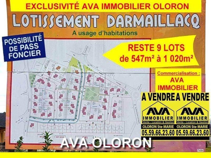 Verkoop  stukken grond Oloron-sainte-marie 41400€ - Foto 1