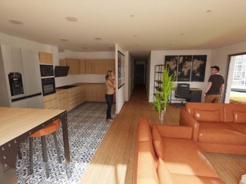 Appartement  T4  -  rez-de-jardin, calme et lumineux, 88 m²  - A