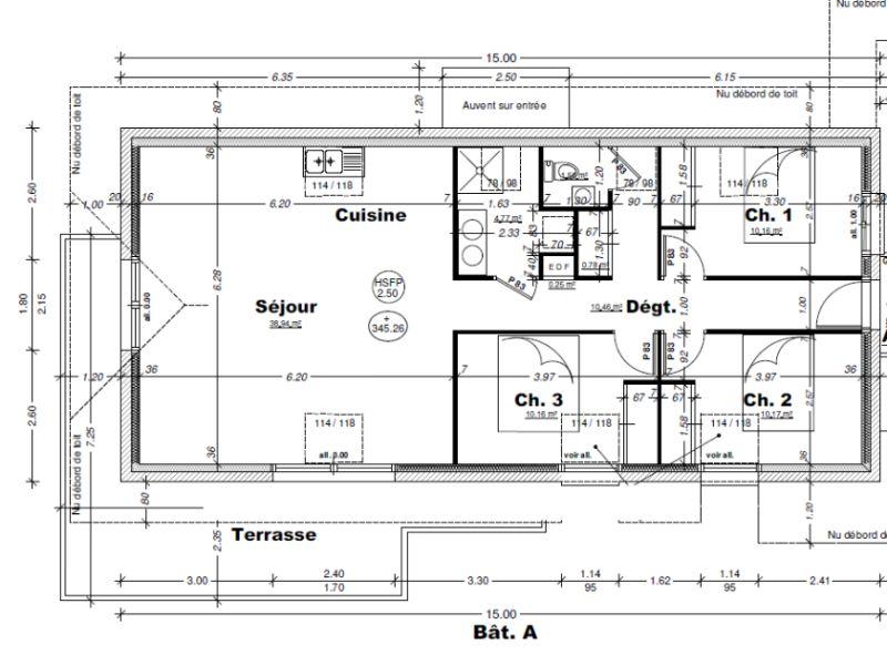 Sale apartment Aix les bains 374000€ - Picture 3