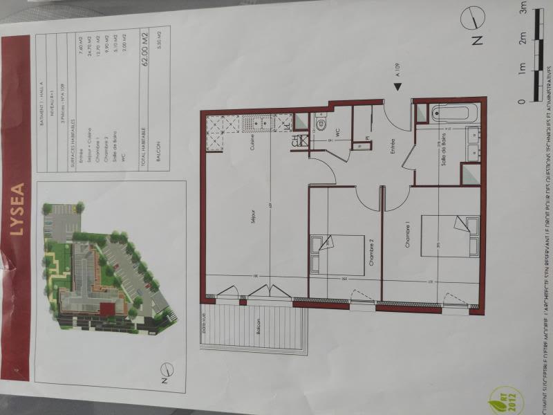 Sale apartment Villiers le bel 193000€ - Picture 2