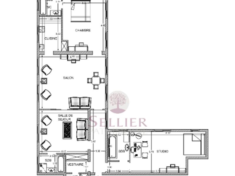 Revenda apartamento Paris 5ème 1950000€ - Fotografia 7
