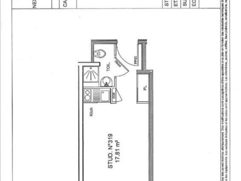 Vente appartement Grenoble 72000€ - Photo 3