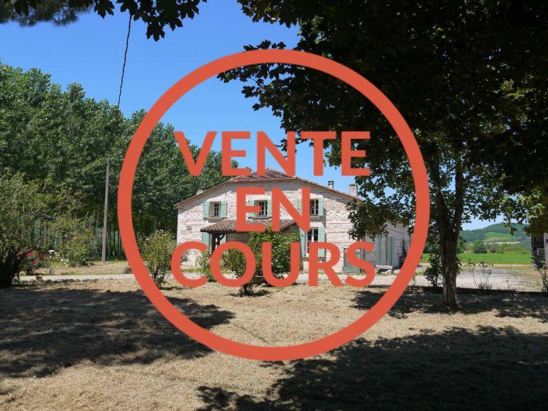 FERMETTE - CASTELMORON SUR LOT - 5 pièces -160 m²