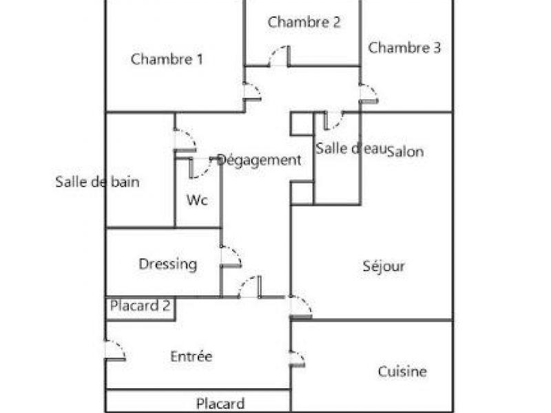 Sale apartment Herouville st clair 136400€ - Picture 3