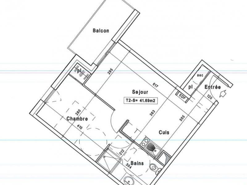 Sale apartment Tourlaville 122300€ - Picture 3