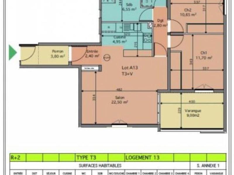 Vente appartement St leu 353050€ - Photo 3