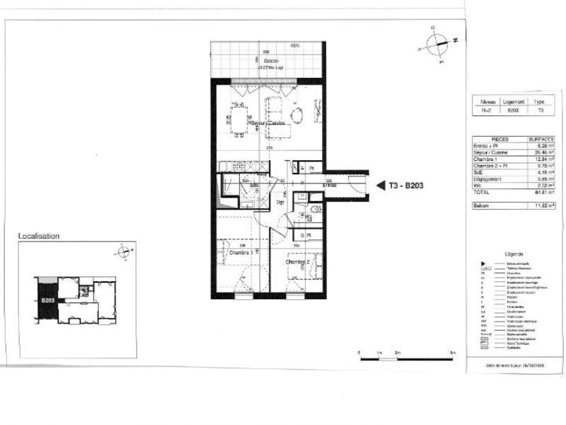 Sale apartment Saint herblain 281000€ - Picture 2
