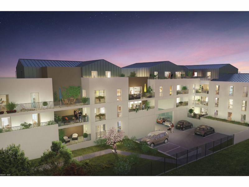 Appartement Saint Herblain 2 pièce(s) 49.64 m2