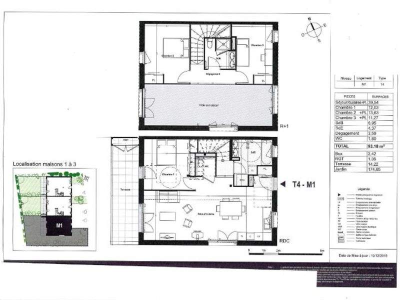 Venta  casa Coueron 344000€ - Fotografía 4