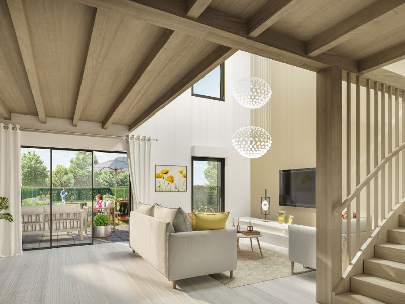 Vente maison / villa Coueron 296000€ - Photo 2