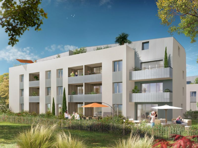 Appartement Neuf Bouguenais 2 pièce(s) 42.40 m2