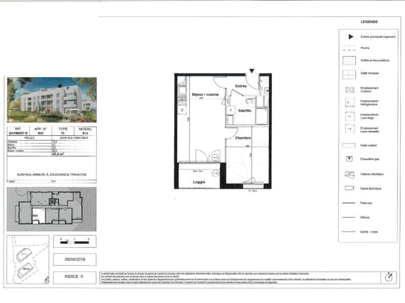Venta  apartamento Bouguenais 183000€ - Fotografía 3