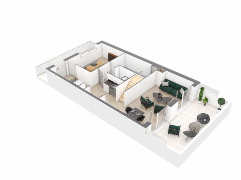 Venta  apartamento Nantes 286000€ - Fotografía 5