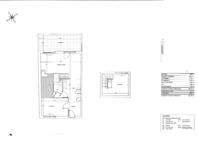 Venta  apartamento Nantes 286000€ - Fotografía 8