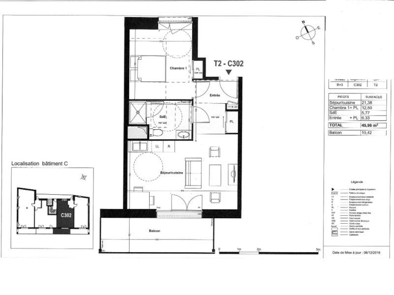 Venta  apartamento Coueron 183000€ - Fotografía 4