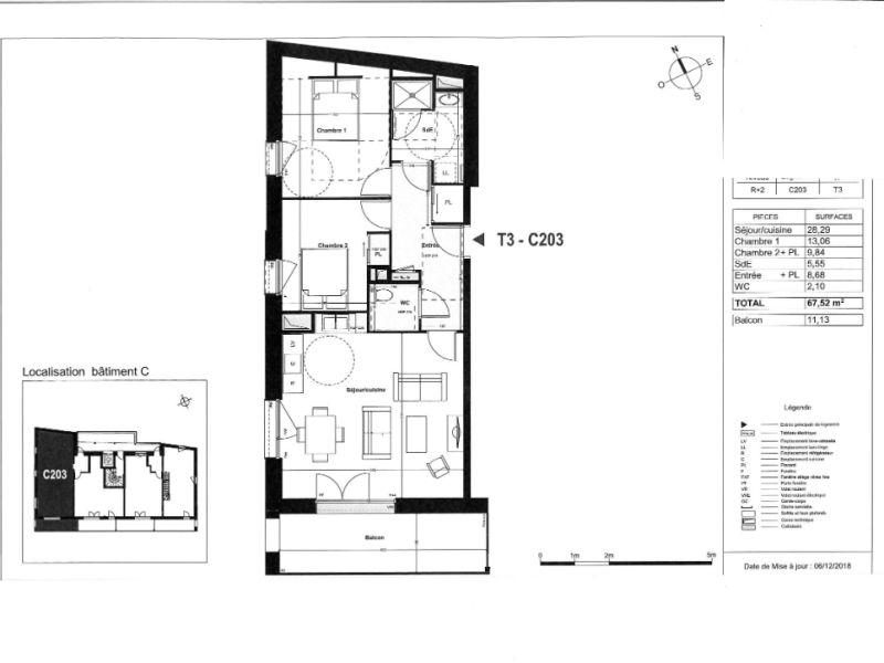 Venta  apartamento Coueron 260000€ - Fotografía 4