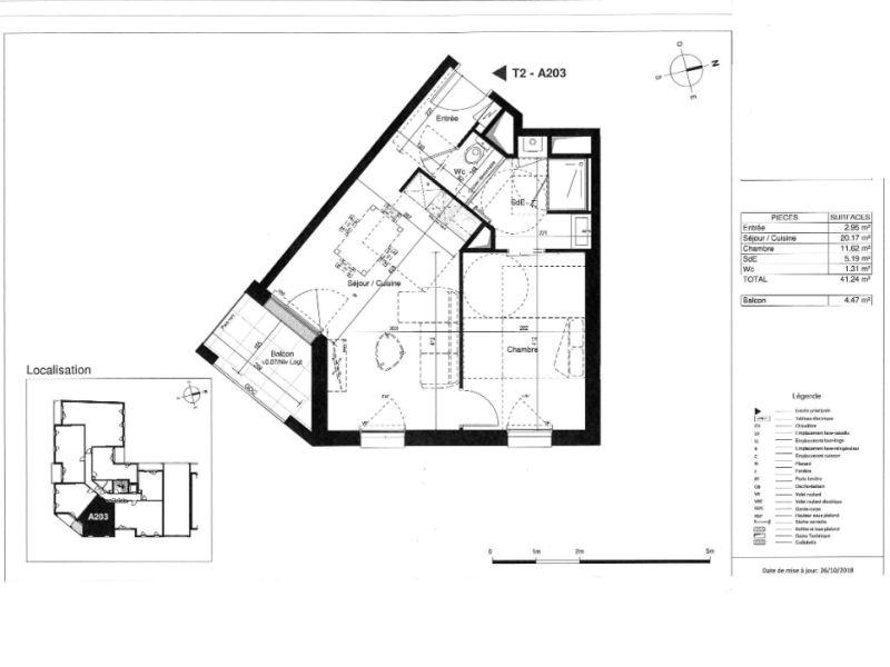 Venta  apartamento Saint herblain 182000€ - Fotografía 3