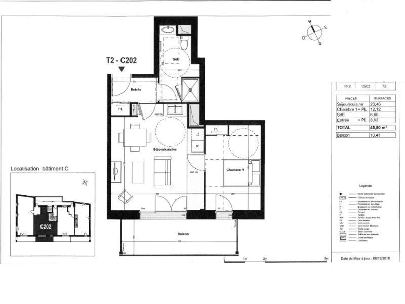 Sale apartment Coueron 180000€ - Picture 4