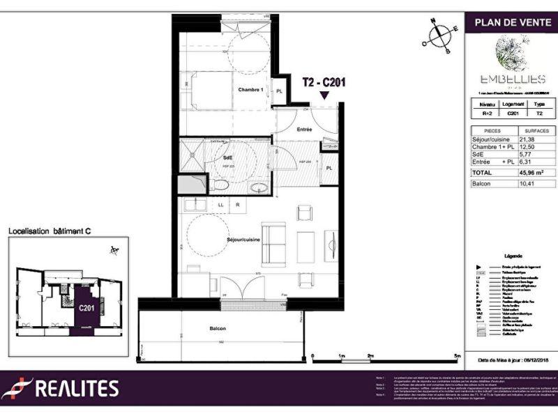 Sale apartment Coueron 182000€ - Picture 4