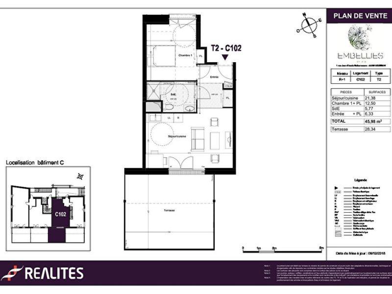 Sale apartment Coueron 179000€ - Picture 4
