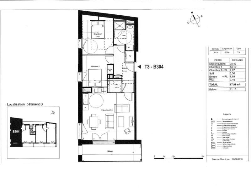 Venta  apartamento Coueron 271000€ - Fotografía 4