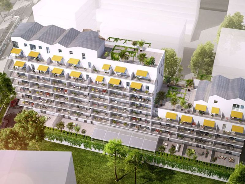 Sale apartment Nantes 576000€ - Picture 2