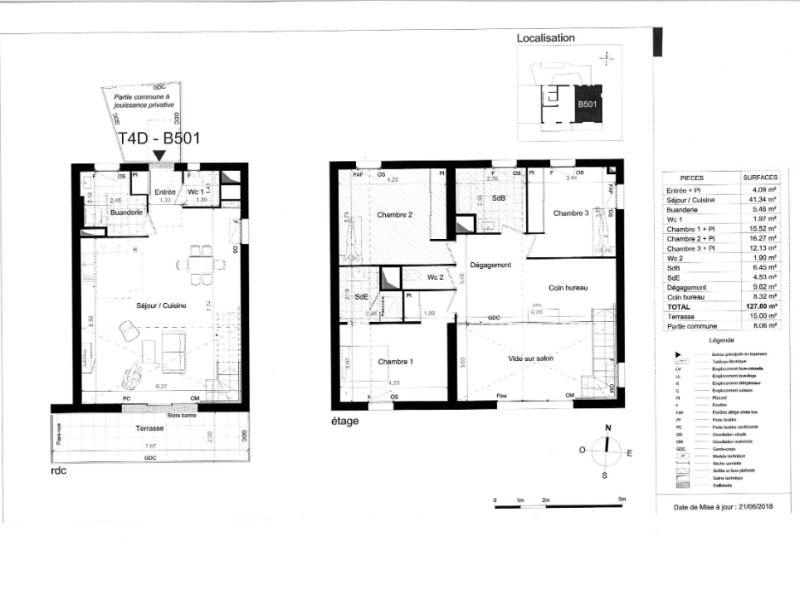 Venta  apartamento Nantes 576000€ - Fotografía 3