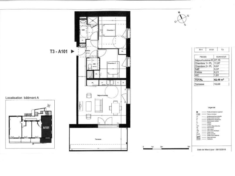 Venta  apartamento Coueron 235000€ - Fotografía 4