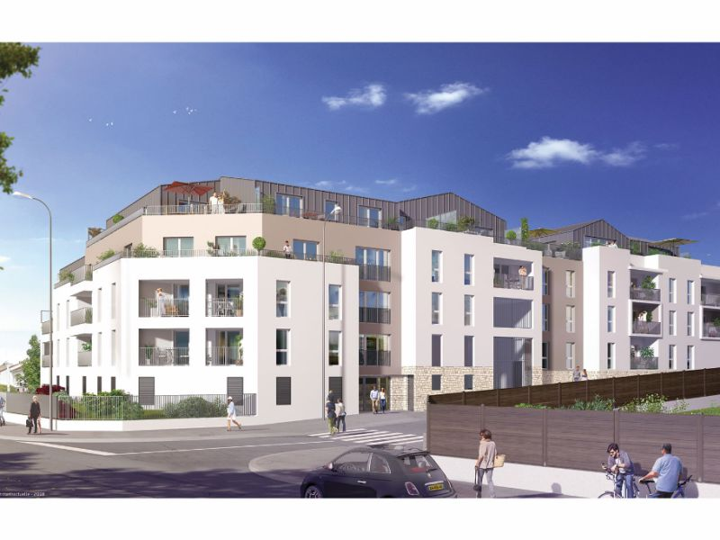 Venta  apartamento Saint herblain 295000€ - Fotografía 1