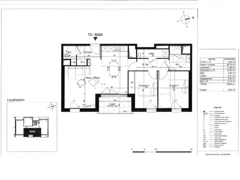 Venta  apartamento Saint herblain 295000€ - Fotografía 3