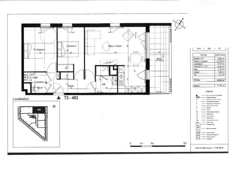 Sale apartment Saint nazaire 241000€ - Picture 3