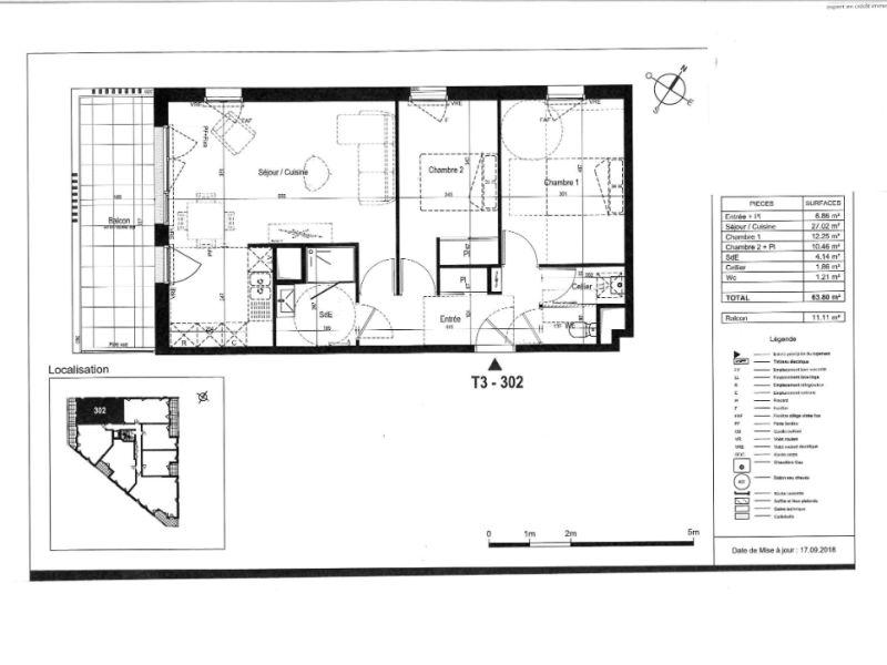 Sale apartment Saint nazaire 237000€ - Picture 3
