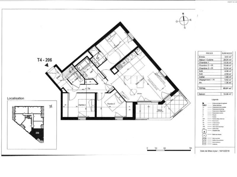 Sale apartment Saint nazaire 314000€ - Picture 3