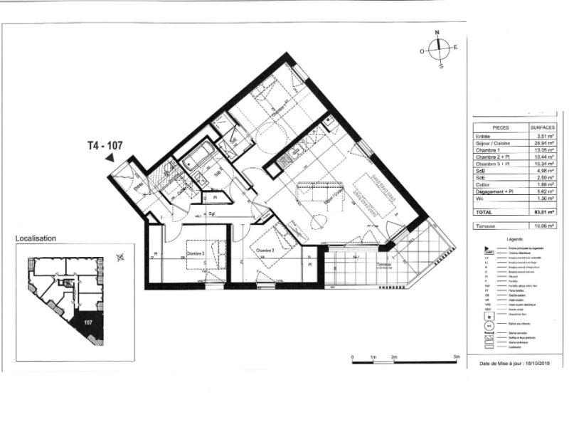 Sale apartment Saint nazaire 302000€ - Picture 3