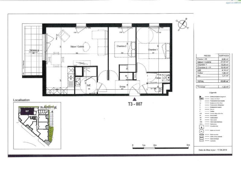 Sale apartment Saint nazaire 215000€ - Picture 3