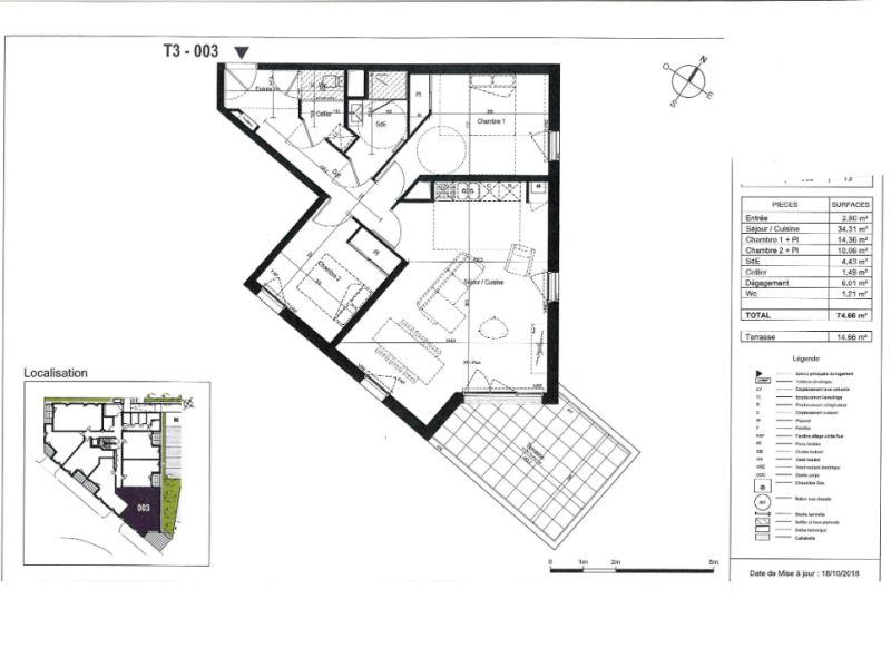 Venta  apartamento Saint nazaire 267000€ - Fotografía 3