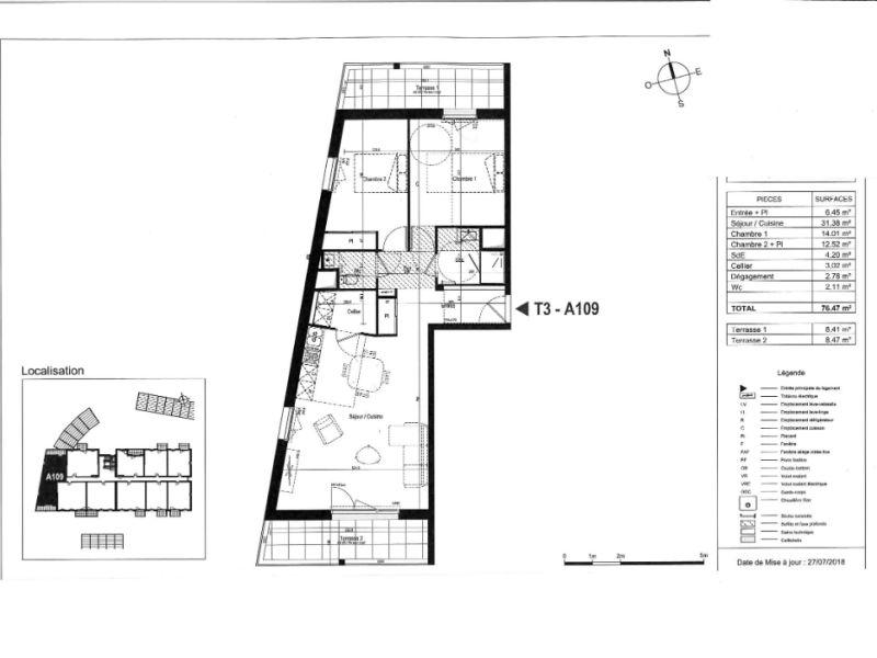 Venta  apartamento Olonne sur mer 232000€ - Fotografía 3