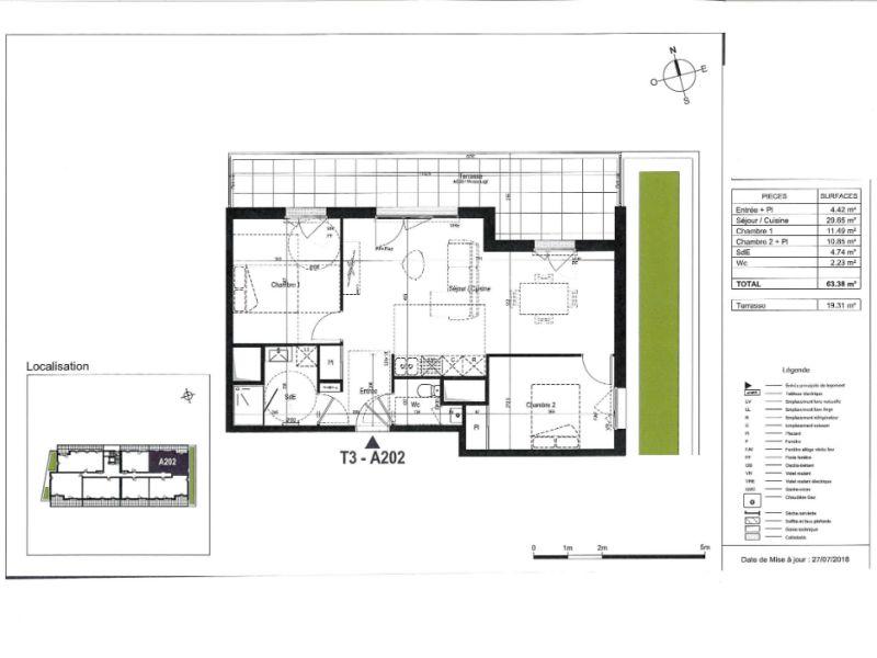 Venta  apartamento Olonne sur mer 227000€ - Fotografía 3